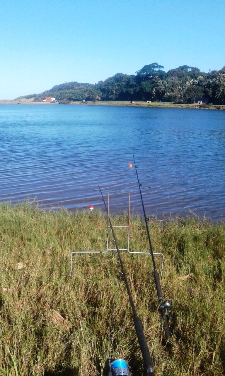 Fishing at the Mpenjati Lagoon & Nature Reserve