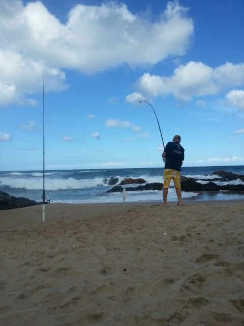 Fishing at Palm Beach